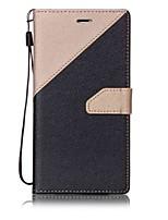 economico -Custodia Per Apple Custodia iPhone 5 iPhone 6 iPhone 7 Porta-carte di credito Con chiusura magnetica Integrale Mattonella Resistente