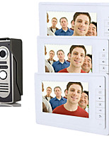 800 x 480 92° CMOS Doorbell System Wired Photographed Multifamily video doorbell