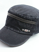 cheap -Unisex Polyester Baseball Cap,Casual Solid All Seasons Black Navy Blue Green