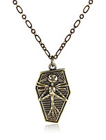 Men's Women's Pendant Necklaces Copper Vintage Gothic Jewelry For Halloween Christmas