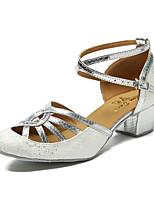 cheap -Modern Leatherette Sneaker Trim Stiletto Heel Black Silver Blue Customizable