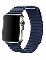 Недорогие -Ремешок для часов для Apple Watch Series 3 / 2 / 1 Apple Повязка на запястье Кожаный ремешок