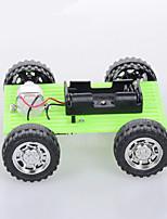 Crab Kingdom Model Assembled DIY Handmade Green Car ordinary