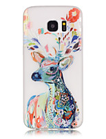 cheap -Deer TPU Glow in the Dark Soft Phone Case for Samsung Galaxy S3/S4 MINI/S5/S6/S7/S6 Edge/S7 Edge/S6 Edge Plus
