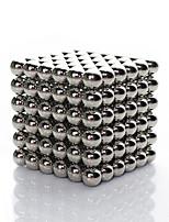 Linlinzz  Children's DIY Buckyball Stainless Steel Ball Steel Magnetic Sculptures Beads Healing Toys - 5MM (Silver)
