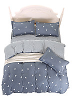 cheap -Mingjie Wonderful Grey Bedding Sets 4PCS for Twin Full Queen King Size from China Contian 1 Duvet Cover 1 Flatsheet 2 Pillowcases