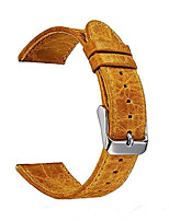 cheap -Genuine Leather Watch Strap Band For Samsung Galaxy Gear S3 Class S3 Fron S3 22mm Smart Watch WatchBand