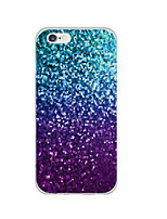 abordables -Pour Coque iPhone 6 Coques iPhone 6 Plus Ultrafine Motif Coque Coque Arrière Coque Brillant Flexible PUT pouriPhone 6s Plus/6 Plus iPhone