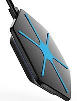 economico -mindzo magnifico caricabatterie wireless per i dispositivi Qi-compatibili tra cui S6 S6 bordo s7 s7 bordo nota 5 7 Nexus 4 5 6 7
