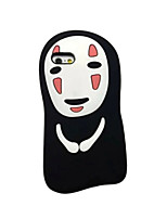 cheap -Case For Apple iPhone 6 Plus Shockproof Back Cover 3D Cartoon Soft Silicone for iPhone 6s Plus iPhone 6s iPhone 6 Plus iPhone 6