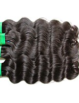 Good Quality 8A Indian Virgin Hair Body Wave 4Bundles 400g Lot 100% Unprocessed Human Hair Material Made Natural Black Color Full Weaves