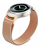 cheap -22MM Magnetic Milanese Loop For Samsung Gear S3 Classic S3 Frontier Watch Band Bracelet Strap Stainless Steel