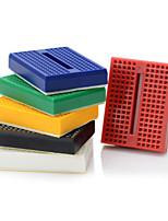 6pcs 170 punto de unión sin soldadura de mini prototipo de tablero / placa de prototipos