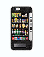 billige -For iPhone 6 etui iPhone 6 Plus etui Ultratyndt Mønster Etui Bagcover Etui Tegneserie Blødt TPU for iPhone 6s Plus/6 Plus iPhone 6s/6