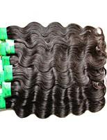 Wholesale 8A Indian Human Hair Body Wave 1Kg 10Bunldes Lot Indian Virgin Hair Extensions Weaves Natural Black Color No Shedding No Tangles