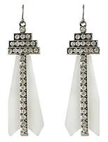 Ohrring Tropfen-Ohrringe Schmuck Damen Hochzeit Aleación 1 Paar Wie in der Abbildung angezeigt