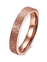 Men's Women's Band Rings Jewelry Basic Fashion Titanium Steel Circle Jewelry For Party Engagement Daily Casual Office & Career
