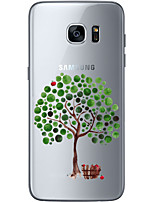 cheap -For Samsung Galaxy S6 Edge Plus S6 S7 Edge S7  Apple tree Soft Material For Compatibility TPU