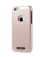 billige -For Støvsikker Etui Bagcover Etui Helfarve Hårdt PC for Apple iPhone 7 Plus iPhone 7 iPhone 6s Plus/6 Plus iPhone 6s/6 iPhone SE/5s/5