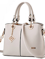 Women Bags All Seasons PU Tote Rivet for Formal Office & Career Blue White Black Fuchsia Wine