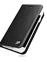 Per A portafoglio Porta-carte di credito Custodia Integrale Custodia Tinta unita Resistente Vera pelle per AppleiPhone 7 Plus iPhone 7