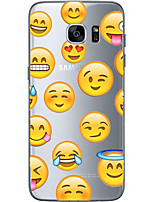 cheap -For Samsung Galaxy S6 Edge Plus S6 S7 Edge S7 Lovely expression package Soft Material For Compatibility TPU