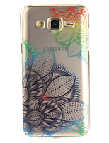 cheap -For Samsung Galaxy J5 J5(2016) J3 J3(2016) G530 Case Cover Dream Flower Pattern IMD Process Painted TPU Material Phone Case