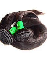 cheap -unprocessed 10a indian straight virgin hair 200g 2bundles lot 100% indian human hair bundles natural black color silk straight base