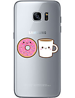 cheap -For Samsung Galaxy S6 Edge Plus S6 S7 Edge S7 Afternoon tea Soft Material For Compatibility TPU
