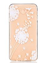 economico -Custodia Per Samsung Galaxy J7 Prime J5 Prime Transparente Decorazioni in rilievo Fantasia/disegno Custodia posteriore Dente di leone