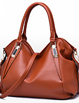 Women Bags All Seasons PU Shoulder Bag Rivet for Formal Office & Career Blue White Black Brown Wine