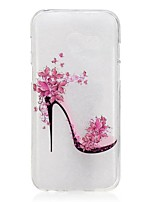 cheap -For Samsung Galaxy A5(2017) A3(2017) Case Cover High Heels Pattern High Permeability TPU Material IMD Craft Phone Case