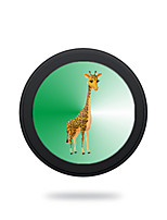 Portable Cute Lovely Giraffe Wireless Charging Pad/Stand for All QI-Enabled Devices Samsung Galaxy S7  S7 Edge S6   S6 EdgeGoogle Nexus 4  5