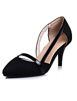 Для женщин Обувь Флис Весна Лето Удобная обувь Обувь на каблуках На шпильке Заостренный носок С отверстиями Назначение Для праздника