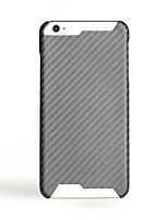 baratos -Capinha Para Apple iPhone 7 Plus iPhone 7 Ultra-Fina Capa traseira Côr Sólida Rígida Fibra de carbono para iPhone 7 Plus iPhone 7 iPhone