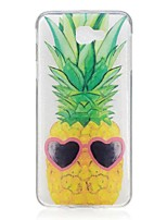 cheap -For Samsung Galaxy J5 Prime J7 Prime J3 Pro Case Cover Pineapple Pattern High Permeability TPU Material IMD Craft Phone Case