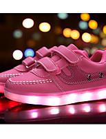 abordables -Fille Chaussures Synthétique Printemps Eté Chaussures Lumineuses Confort Basket La boucle du crochet LED Combinaison pour Décontracté