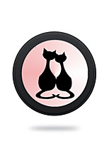 cheap -Portable  Cat Couples  Wireless Charging Pad/Stand for All QI-Enabled Devices Samsung Galaxy S7  S7 Edge S6   S6 EdgeGoogle Nexus 4  5
