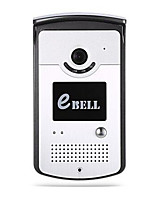 EBELL ATZ-DBV03P 720P HD P2P Wireless WIFI Doorbell Smart Video Door Phone Intercom Doorbell with Camera IR Night Vision Alarm