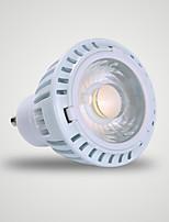 GU10 Spot LED MR16 1 COB 520 lm Blanc Chaud 3000 K AC 110-130 V