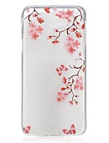 cheap -For Samsung Galaxy J5 Prime J7 Prime J3 Pro Case Cover Plum Blossom Pattern High Permeability TPU Material IMD Craft Phone Case