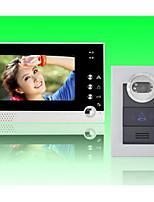 actop 7inch цветной дисплей Проводные видео домофона для villasupport 1 до 2 монитора ZY-316210