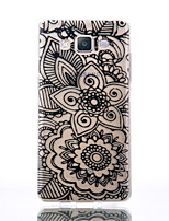 cheap -For Samsung Galaxy A510 A5 A310 A3 TPU Material Flowers Patterns Relief Phone Case