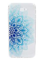 abordables -Funda Para Samsung Galaxy J7 Prime En Relieve Diseños Cubierta Trasera Impresión de encaje Suave TPU para J7 Prime J2 Prime