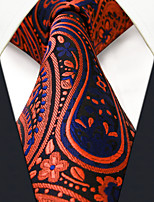 Men's Silk Neck Tie,Vintage Cute Party Work Casual Paisley All Seasons