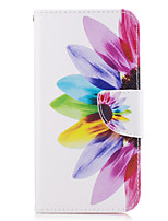 cheap -For Samsung Galaxy A3(2016) A5(2017) Case Cover Flower Pattern PU Material Painted Mobile Phone Case A3(2017) A5(2016)