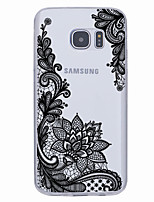 cheap -For Ultra Thin Case Back Cover Case Solid Color Soft TPU for Samsung S7 edge S7 S6 edge plus S6 edge S6