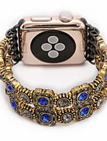 abordables -Jade agate perl perles bracelet à la main bijoux faits à la main pour apple watch iwatch 38mm 42mm