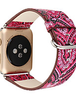 cheap -Watch Band For Apple Watch 3 38mm 42mm Classic Buckle Genuine Leather Replacement Band