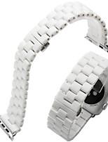 preiswerte -Uhrenarmband für Apfeluhr 42mm Schmetterlingsschnalle Keramik Ersatzband Armband